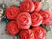 Como hacer galletas rosas