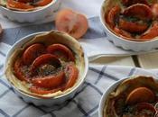Mini-tartas Tomate Mostaza Dijon