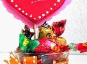 Manualidades corazones vasitos para regalar