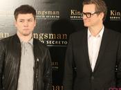 """Colin Firth Taron Egerton promocionan """"Kingman: Servicio Secreto"""" Madrid"""