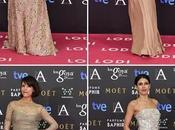 Premios Goya 2015. Modelitos Alfombra Rosa.