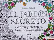 Reseña: Jardín Secreto (libro colorear)