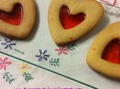 Galletas Valentín corazón cristal
