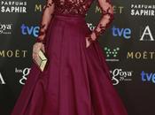 Goya 2015, alfombra roja mejor vestidas