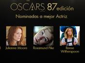 quiniela Oscars 2015: Mejor actriz mejor reparto