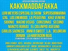 Kakkmaddafakka suman SanSan Festival 2015