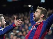 Messi, Iniesta Piqué victoria Barcelona