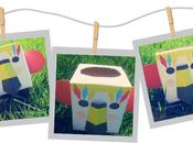 Caja decorada para niños