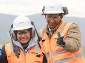 Chumbivilcanos trabajando mina Constancia