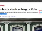Grupo bipartidista senadores presentan proyecto eliminaría bloqueo Cuba