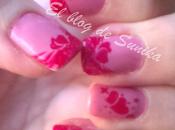 Manicura corazones para Valentín