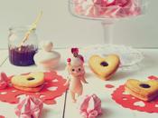 Corazones linzer Valentín