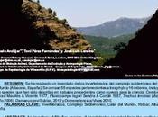 Investigaciones Bioespeleológicas Calar Mundo