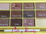 Look paleta Naked Chocolate, Heart Makeup