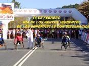 Ayer febrero enamorados, santos inocentes Media Maratón Gran Bahía Vig-Bay