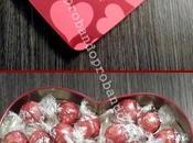 Celebrando Valentín BOMBONES LINDOR CORAZÓN