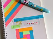 DIY: diario washi tape diaryw