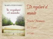 regalaré mundo Marta Fernández