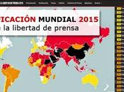 Reporteros fronteras: Aumento censura nivel global