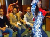 Llega Málaga derecho, espectáculo pionero aúna alta costura flamenco