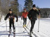 esquí fondo, buen recurso para nieves