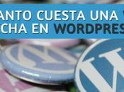Cuanto cuesta crear pagina WordPress