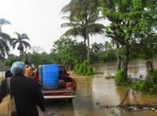 Intensas lluvias Norte dominicano.