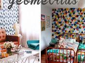 Geometrías todo color paredes