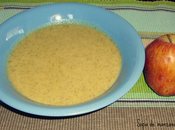Sopa brocoli manzana