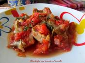 Alcachofas tomate tomillo