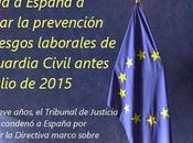 obliga España revisar Guardia Civil antes julio 2015