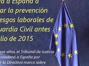 obliga España revisar Guardia Civil antes julio 2015