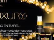 """Luxury Gold"" línea lujo POSTQUAM"