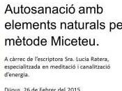 "Conferencia ""Autosanación elementos naturales. Método Miceteu"""
