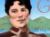 Doodle aniversario Rosalía Castro