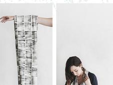 DIY: propio sello estampa pañuelo