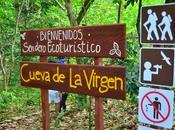 Inauguran sendero Cueva Virgen Barahona
