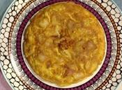 Tortilla patata cebolla frita