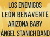 Palencia Sonora 2015: Enemigos, León Benavente, Arizona Baby, Ángel Stanich...