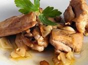 Pollo ajillo aroma fino