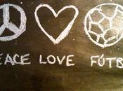 Peace love, anécdota futbolera