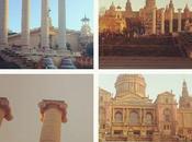 cuatro columnas Montjuic four columns