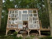 Recycled window House