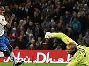 Hat-trick Adebayor Manchester City-Lech Poznan( 3-1)
