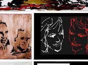 Colección lienzos laminas realizados Joaquin Torres Rafael Llamazares