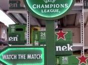 Trabajo Fútbol... Heineken vuelve poner prueba amantes Champions League