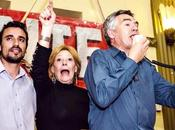 Frente Izquierda presentó alianza Córdoba: Liliana Olivero, gobernadora; Eduardo Salas, legislador.