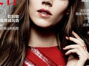 Freja Beha lleva años sesenta portada para Vogue China