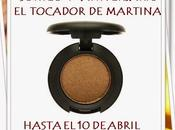 SORTEO ANIVERSARIO TOCADOR MARTINA: SOMBRA MULCH
