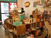 Fiambrera: cafetería, galería arte tienda diseño Madrid